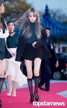 [HD포토] 마마무(MAMAMOO) 문별 긴머리 흩날리며(2016 아시아 아티스트 어워즈 AAA) #topstarnews