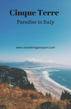 If there ever was paradise on earth, it'd look like Cinque Terre.  If you are heading to Italy and want to try some offbeat place, head to Cinque Terre.