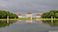 München - Schloss Nymphenburg im Frühling