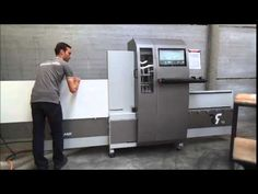 Robland BM 3000 point to point cnc - YouTube