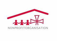 Logo mit Kinder für Kinderorganisation
