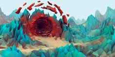 Low-Poly Wallpapers - Album on Imgur