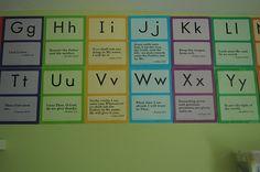 Abeka preschool and K cards ~ Bible/Alphabet memory card