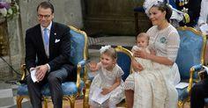 Es war sein großer Moment: Prinz Oscar von Schweden ist der absolute Star bei seiner Taufe ...