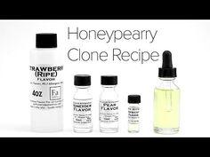 DIY E-Liquid Recipe : Honeypearry Clone - YouTube
