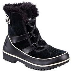 Sorel Tivoli II Fleece-Lined Waterproof Winter Boots for Ladies - Black - 6.5M
