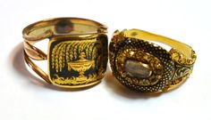 Two Mourning Rings, English, 1813 and 1819