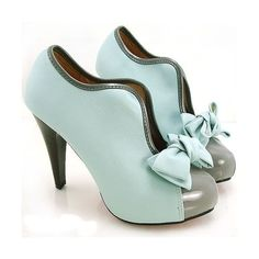Vintagegal found on Polyvore Mint green shoes