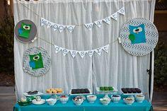 Baby Shower Buhos 4 cakepins.com