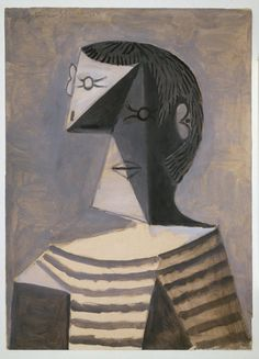 PABLO PICASSO - Man in a Striped Jersey 1939