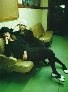 """""""Campus Beat""""by Steven Meisel for Vogue Italia"""