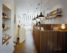 The Monocle Café London epitomises everything Monocle magazine stands for: clean design, good taste, a considered aesthetic, and totally hipster!