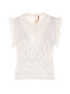 Lace Top #shopbylook #imperialfashion #Summer2016
