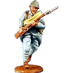 GW 008 Poilu francés gran guerra Metal Toys, Toy Soldiers, War, Templates, French Tips