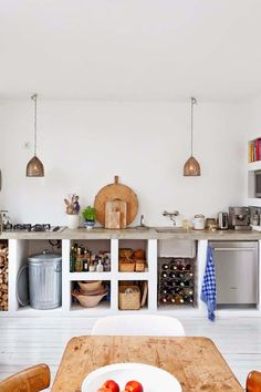 Renovation Inspiration: 15 Truly Gorgeous Examples of Concrete in the Kitchen