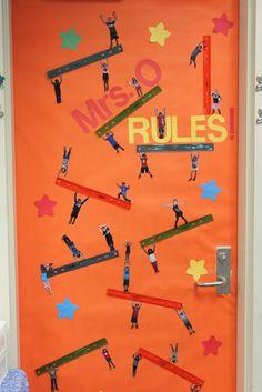 loads of classroom door decorating
