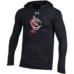 Under Armour Men's University of South Carolina Vault Triblend Hoodie (Black, Size XX Large) - NCAA Licensed Product, NCAA Men's Fleece/Jackets at ...