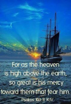 Psalm 103:11 (KJV)