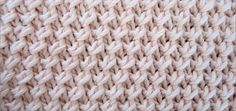 Knitting Unlimited: Diagonal Fixed Loop Stitch Knitting Stiches, Knitting Videos, Knitting Charts, Crochet Videos, Knitting For Beginners, Loom Knitting, Crochet Stitches, Hand Knitting, Knit Crochet