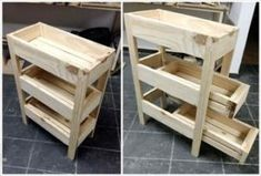 Pallet Fruit and Vegetable Organizer