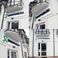 Litery przestrzenne dla Restauracji Smaki Ponidzia #literyprzestrzenne #3dletters #smakiponidzia #mgraphics #buskozdroj www.mgraphics.eu