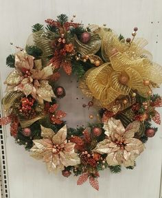 Gold wreath  Michael's #3862