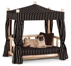 Rustic Dog Beds from La Lune Collection - pet accessories - milwaukee - La Lune Collection #dogbedfurniture