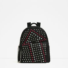 ZARA - WOMAN - BACKPACK WITH STUDS