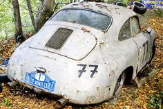 The Vintage Supercars Rotting away in a Forest (and that's how the owner wants it) #porsche