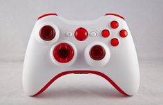 Xbox 360 Modded Controller COD MW3, Black Ops 2, MW2, Rapid fire mod (White/Blood Red) « Game Searches