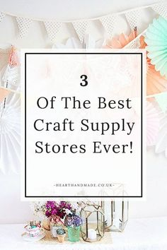 I like using different and unique embellishments and supplies in all of my craft work so I thought it was about high time I shared with you my favourite places to buy ribbons, trims, gift toppers, scrap book embellishments and craft supplies on Etsy! There are also some amazing DIY project idea's in some of the styled photos from these stores. You can also find plenty of awesome supplies to make gifts for your family and friends!