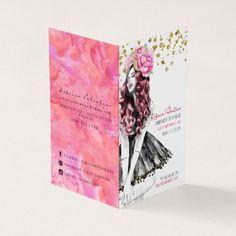 Glam Lip Product Distributor Chic Card - chic design idea diy elegant beautiful stylish modern exclusive trendy