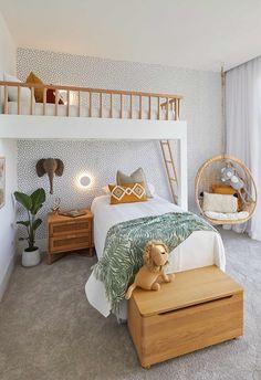 Modern Kids Bedroom, Kids Bedroom Designs, Kids Room Design, Modern Girls Bedrooms, Kids Bedroom Girls, Childrens Bedroom Ideas, Kids Bedroom Ideas, Cool Kids Rooms, Toddler Rooms