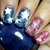 50 fantastic bright summer and fourth of july nail design ideas