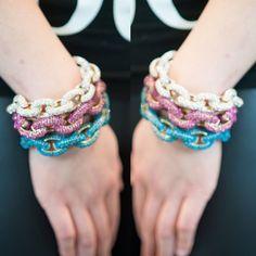 Luxe Gold Pave Bracelets