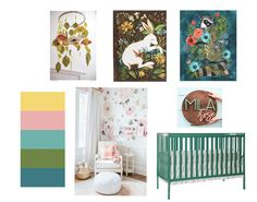 Nursery plans for baby G! Don't get too excited Tammie, Mila Rose is not her name lol :)
