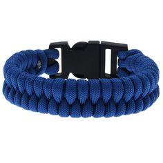 Tutorial - How to: Blue Fishtail Paracord Bracelet | Beadaholique