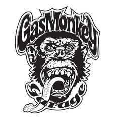 Stickers Products - Gas Monkey Garage.