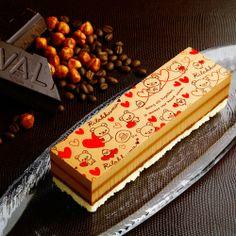 カフェ・プラリネ・ノワゼット(リラックマ・バージョン)実店舗で人気No1のチョコレートケーキがリラックマとコラボ♪【冷凍便】※2/28(金)までの店舗発送とさせていただきます。【楽天市場】