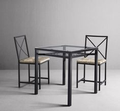 One table and two chairs you can get it home today. That's fast food in the home furnishing business, only it will last for decades. The GRANÅS table top is tempered glass and is easy to clean, with a practical shelf underneath.
