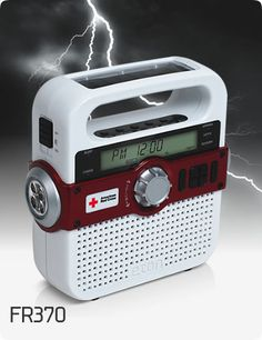 Eton solar /hand crank/emergency LED light/radio Ipod/smart phone charger www.Eton.com Awesome!