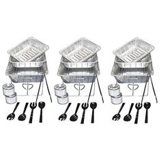 Party Essentials 22 Piece Party Serving Kit, Includes Chafing Kits, Methanol Fuel and Serving Utensils Used Equipment, Equipment For Sale, Methanol Fuel, Inspirational Graduation Quotes, Inspirational Quotes, Catering Companies, Catering Ideas, Catering Buffet, Catering Platters