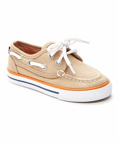 Another great find on #zulily! Boathouse Brown Spinnaker Boat Shoe #zulilyfinds