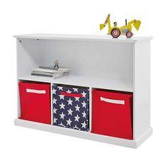 Abbeville Storage Shelf Unit, White