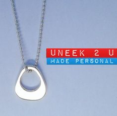 Double sided, hand crafted sterling silver pendant. No side is more important than the other and can accommodate hand stamped personal info on either side. Hall marked and branded with my U2U tag, a precious bespoke keepsake to treasure and wear close to you always; an emotional connection that celebrates the important relationships, occasions or milestones in our lives.  Check it out in my Madeit store ... madeit.au/Uneek2U Do what you love, love what you do :) U2U xxx