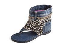 Dani.K Women's Leopard Jeans Sandal Boot 100% Cotton Blue Wash (Size 9.5) Dani.K http://www.amazon.com/dp/B00HG0D39W/ref=cm_sw_r_pi_dp_2S9wub1N41NK6