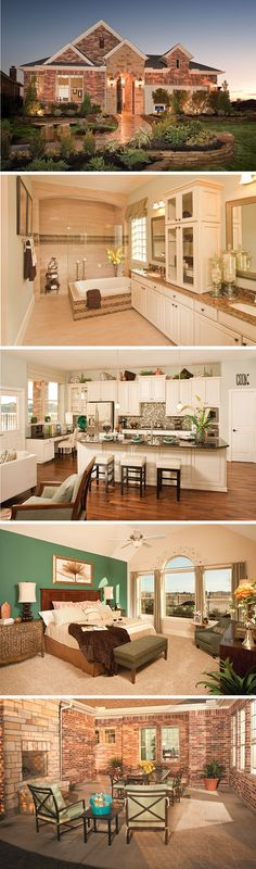 The Windson by David Weekley Homes in Ashfield Gardens is a 3 bedroom, 2 bathroom floorplan that features a large owners retreat with tray ceilings, an open family room and kitchen layout and a private courtyard with a fireplace. Custom home upgrades include a fireplace in the family room, an extended owners retreat or a cover over the courtyard.