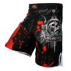 Men's skeleton skull cool printing head wrestling pants muay thai boxing shorts  boxing shorts cheap mma shorts muay thai boxing