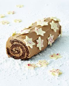 Step By Step: Star-Studded Chocolate Roll