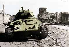 T34 tank in Stalingrad October 1942
